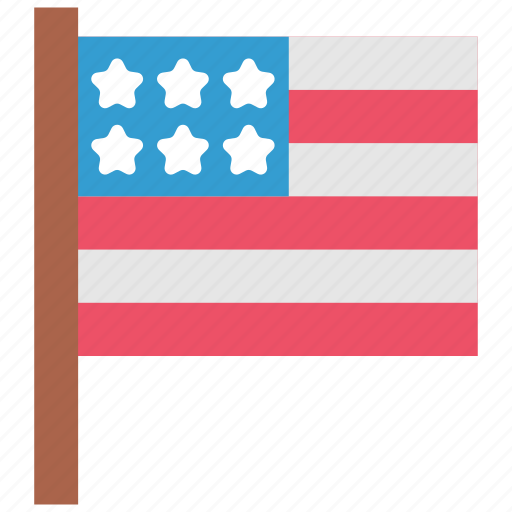 celebration, country, flag, holiday, independence day, nation, usa icon