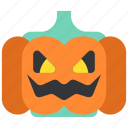 celebration, helloween, holiday, lamp, party, pumpkin