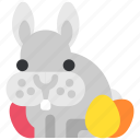 bynny, celebration, easter, easter bunny, egg, holiday, tradition icon