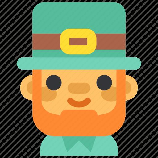 celebration, festival, holiday, leprechaun, redhead, saint patrick, st.patrick 's day icon