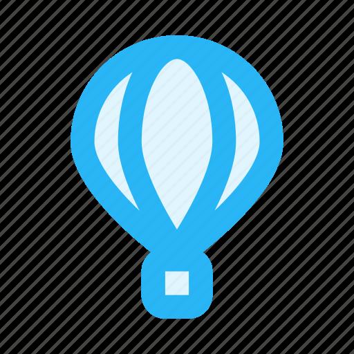 air, balloon, fly, tourism, transportation, travel icon