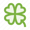 clover, flower, garden, ireland, luck, nature, plant icon