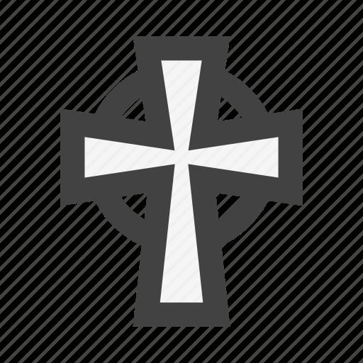 celtic, celtic cross, chapel, church, cross, religion icon