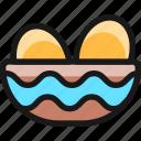 easter, egg, basket