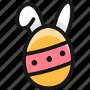 easter, egg, bunny