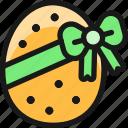 easter, egg, ribbon