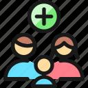 family, add, new, member