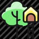family, outdoors, tree, house