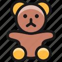toys, teddy, bear, 1