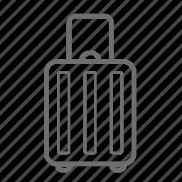 baggage, holiday, lugage, luggage, suitcase, travel, traveling icon