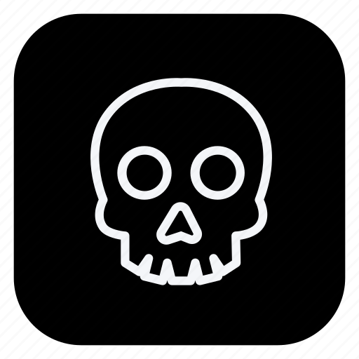 christmas, holiday, holidays, outdoor, skull, trip, vacation icon
