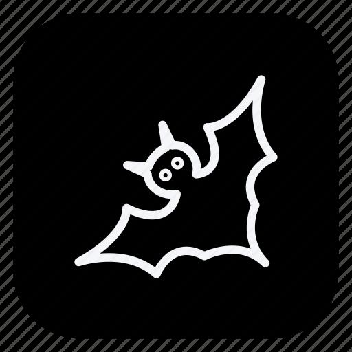 bat, christmas, halloween, holiday, holidays, trip, vacation icon