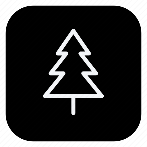 christmas, holiday, holidays, outdoor, tree, trip, vacation icon