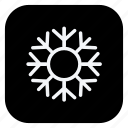 christmas, holiday, snow, snowflake, trip, vacation, winter icon
