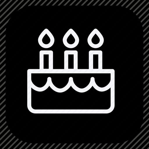 cake, celebration, christmas, holiday, holidays, trip, vacation icon