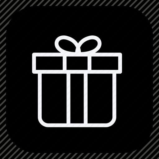 box, christmas, gift, holiday, holidays, outdoor, vacation icon