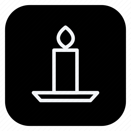 candle, christmas, decoration, holiday, holidays, trip, vacation icon