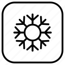 christmas, flake, holiday, holidays, outdoor, snow, vacation icon