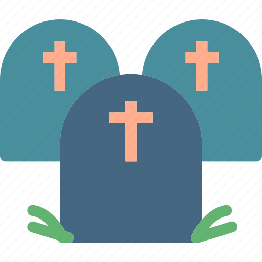 cemetery, dead, grave, grounded, haloween3 icon