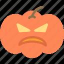 decor, haloween, pumpkin icon