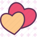 blind, bound, hearts, inlove, love, pair, wedding icon