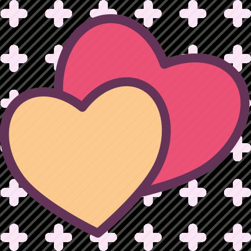 blind, bound, hearts, inlove, love, pair, wedding icon