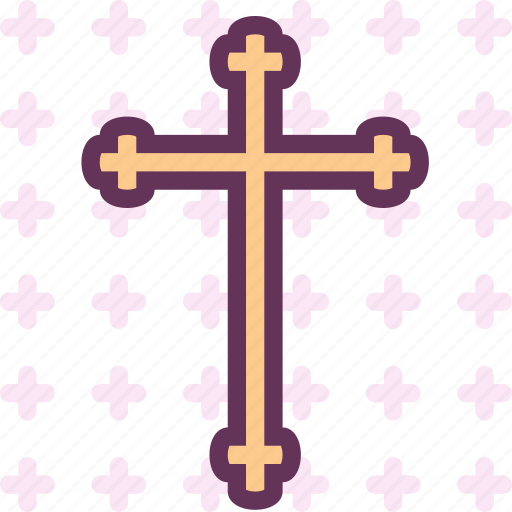 catholic, cross, god, heavy, holy, orthodox, word icon
