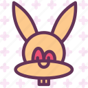animal, easter, rabbit icon
