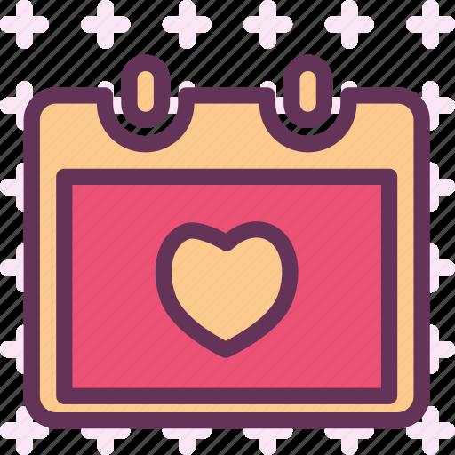 bound, calendar, christmas, groom, savethedate, wedding, wife icon