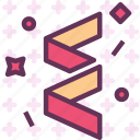 bloopers, celebrate, fireworks, newyear, party icon