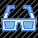 3d, cinema, entertainment, film, glasses