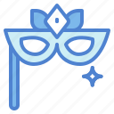 carnival, costume, eyes, mask, party icon