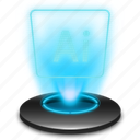 adobe illustrator, art, design, graphic, hologram, illustrator icon