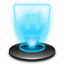 adobe, adobeflash, fl, flash, hologram, holographic icon