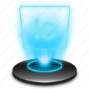 adobe, hologram, holographic, id, identity, indesign icon