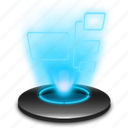 hologram, holographic, internet, mynetwork, net, network, web icon