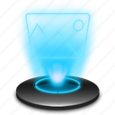 gallery, hologram, image, images, photography, photos, picture icon