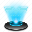 ccp, eve, eveonline, game, hologram, holographic, online icon