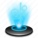 game, hologram, holographic, portal, portal2, portalgame icon