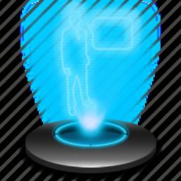 communication, hologram, internet, online, social, talk, web icon