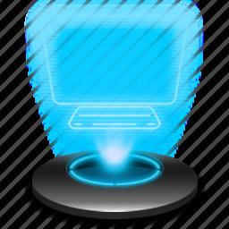 hologram, mypc, system, thispc, windows icon