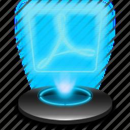 acobereader, adobe, hologram, pdf, reader, windows icon