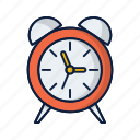 alarm, alert, clock, time, timer icon