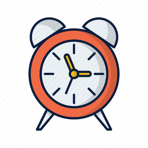 alarm, alert, clock, time, timer icon