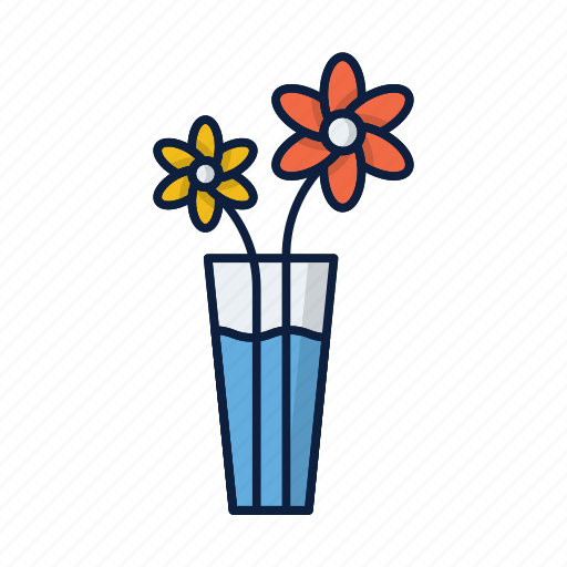 comfort, decoration, flower, grow, home, plant, pot icon