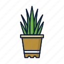 comfort, flower, grow, home, ikea, plant, pot icon