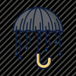 parasol, protection, rain, umbrella, weather icon