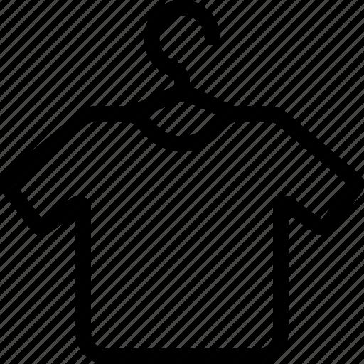 clothes hanger, clothing hanger, fashion, hang, shirt, shirt hanger, tee shirt icon