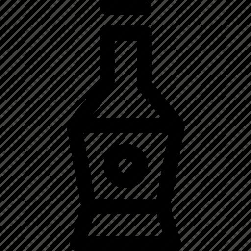 bevarage, bottle, drink, glass, soft icon