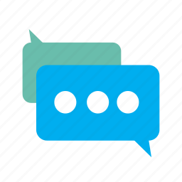 bubble, chat, communication, message, send, sms, talk icon